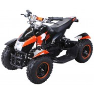 Elektro Kinder Quad Buggy 800 Watt Orange Schwarz
